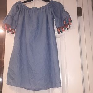 Cute jean colored tunic